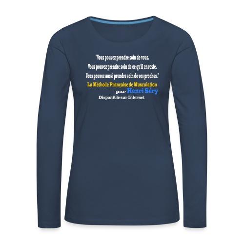 LMF Sante v2 - T-shirt manches longues Premium Femme