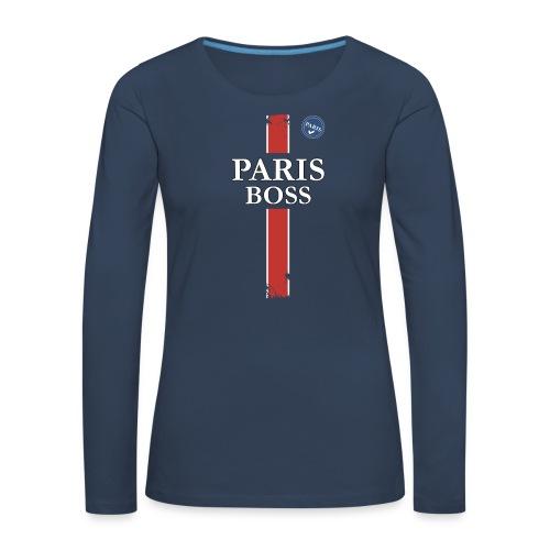 parisfinal11.png - T-shirt manches longues Premium Femme