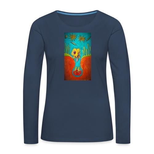 Kotelo - Naisten premium pitkähihainen t-paita