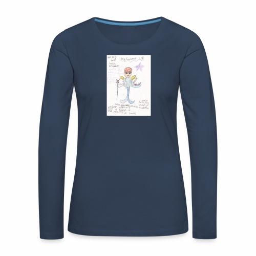 Big Swimmer Bill DHIRT - Women's Premium Longsleeve Shirt