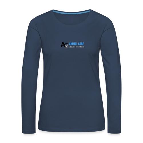 Sædding_Dyreklinik_ by Lattapon - Dame premium T-shirt med lange ærmer