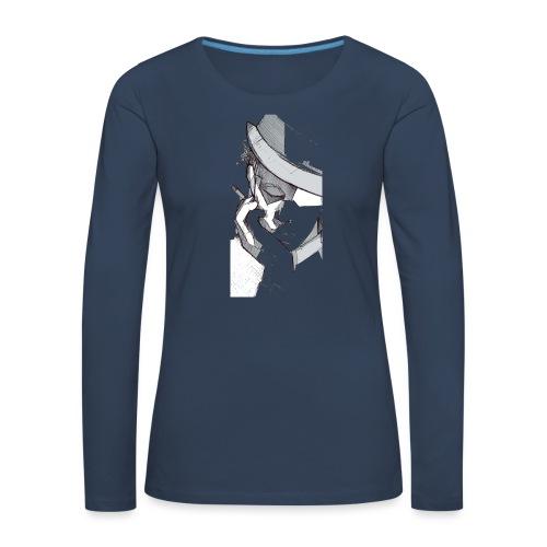 tom2 - Maglietta Premium a manica lunga da donna