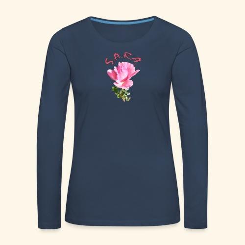 Rose Queen Elisabeth - Frauen Premium Langarmshirt