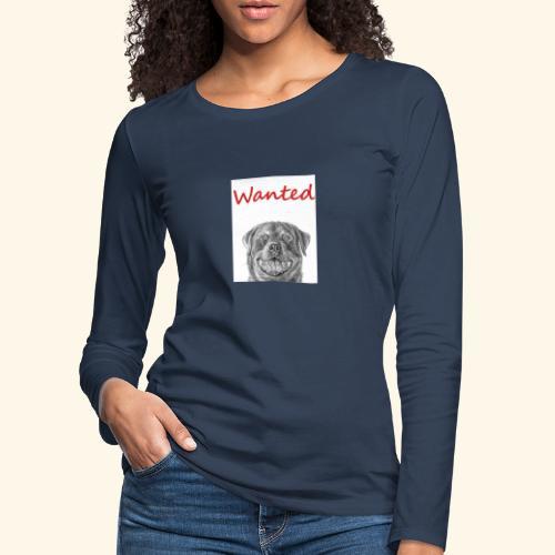 WANTED Rottweiler - Women's Premium Longsleeve Shirt