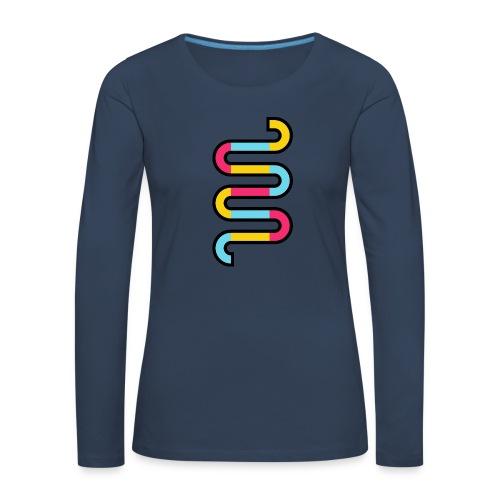 Die DNA deines Unternehmens - Frauen Premium Langarmshirt