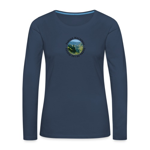 Parque Nacional Sierra de las Nieves - Camiseta de manga larga premium mujer