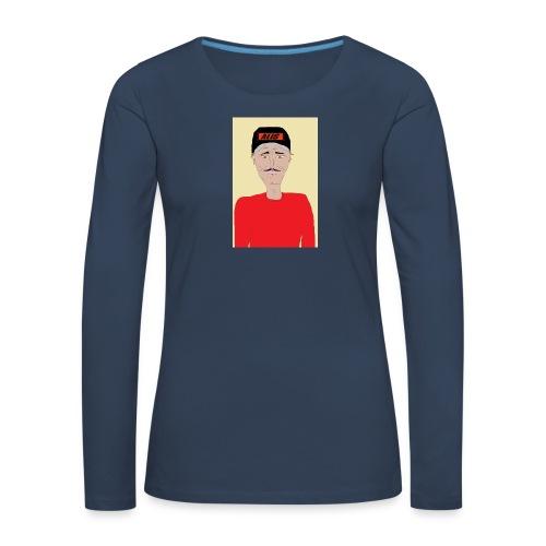DJ , new shirt - Långärmad premium-T-shirt dam