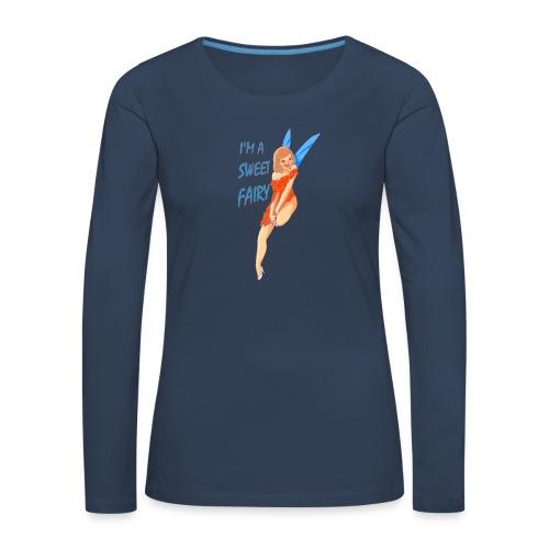 Sweet Fairy - Maglietta Premium a manica lunga da donna