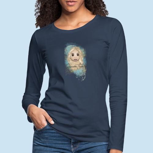 QueeenTran Edition - Premium langermet T-skjorte for kvinner