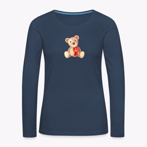 Teddy Bear - Women's Premium Longsleeve Shirt