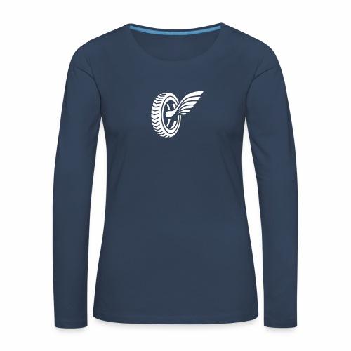 Car badge tires and wings - Women's Premium Longsleeve Shirt