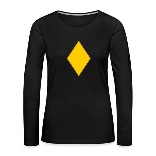 Upseerioppilas - Naisten premium pitkähihainen t-paita