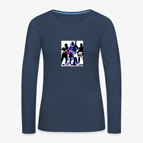 Keep Calm and Stay Ballin' - Women's Premium Longsleeve Shirt