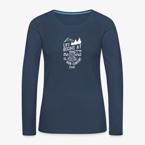 comfortzone - Women's Premium Longsleeve Shirt