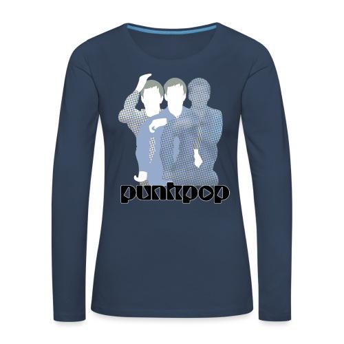 JD Post Punk PunkPop - Maglietta Premium a manica lunga da donna