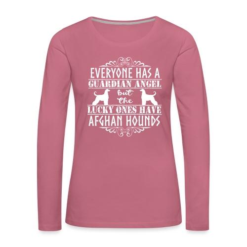 Afghan Hound Angels 2 - Women's Premium Longsleeve Shirt