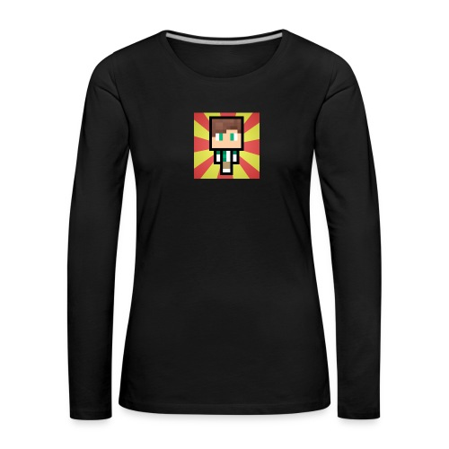 m crafter - Dame premium T-shirt med lange ærmer