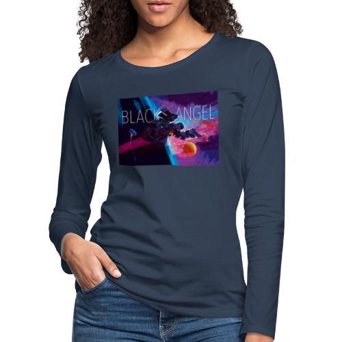 BLACK ANGEL COVER ART - T-shirt manches longues Premium Femme