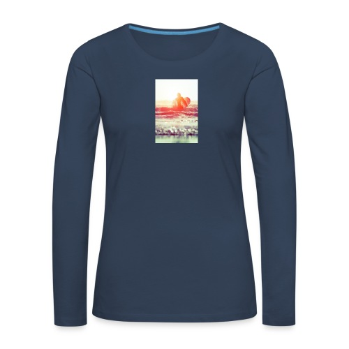 sunset surf jpg - Women's Premium Longsleeve Shirt
