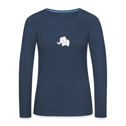 Little white elephant - Women's Premium Longsleeve Shirt