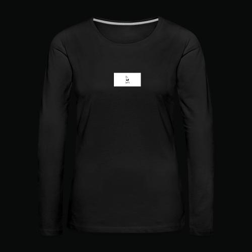 bafti hoodie - Dame premium T-shirt med lange ærmer