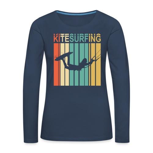 Kitesurfing - T-shirt manches longues Premium Femme