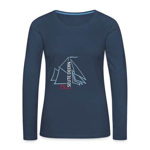 SeuteDeern75Jahre-Front - Frauen Premium Langarmshirt