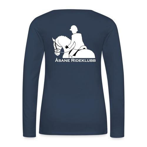 aark negativ gif - Premium langermet T-skjorte for kvinner