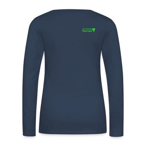poco loco creations green - Women's Premium Longsleeve Shirt