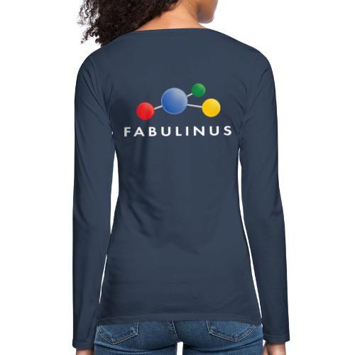 Fabulinus logo enkelzijdig - Vrouwen Premium shirt met lange mouwen