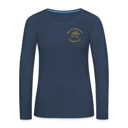 Reitverein-Ampertal - Frauen Premium Langarmshirt