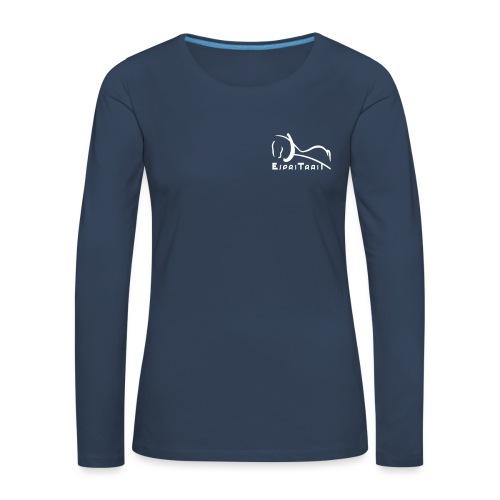 espritraitlogon - T-shirt manches longues Premium Femme