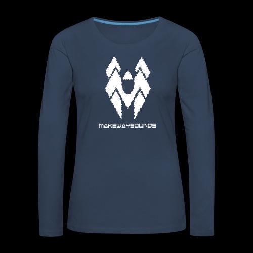 Wings - Naisten premium pitkähihainen t-paita