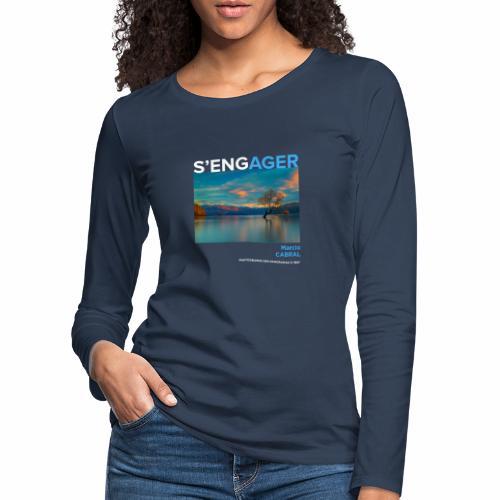 1 Achat = 1 Don à la Fondation Nicolas Hulot - T-shirt manches longues Premium Femme