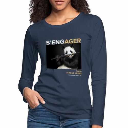 1 Achat = 1 Don à l'association Rainfer - T-shirt manches longues Premium Femme