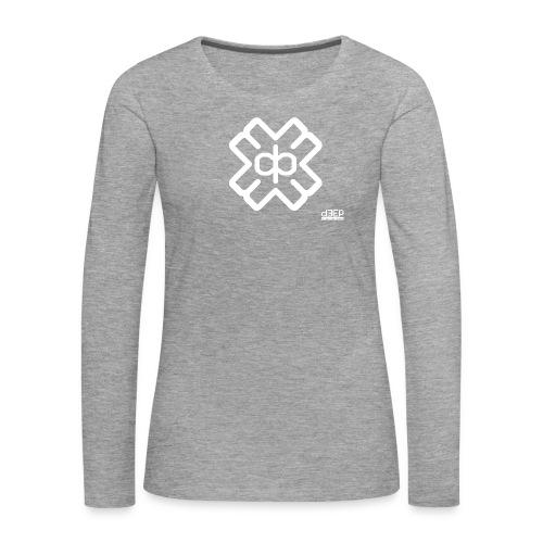 d3eplogowhite - Women's Premium Longsleeve Shirt