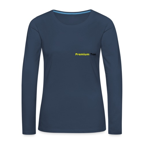 Stranger Danger PT - Långärmad premium-T-shirt dam