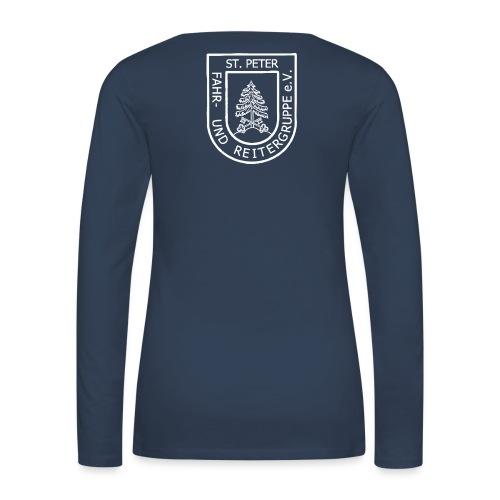 FURG_Logo_weiß_2 - Frauen Premium Langarmshirt