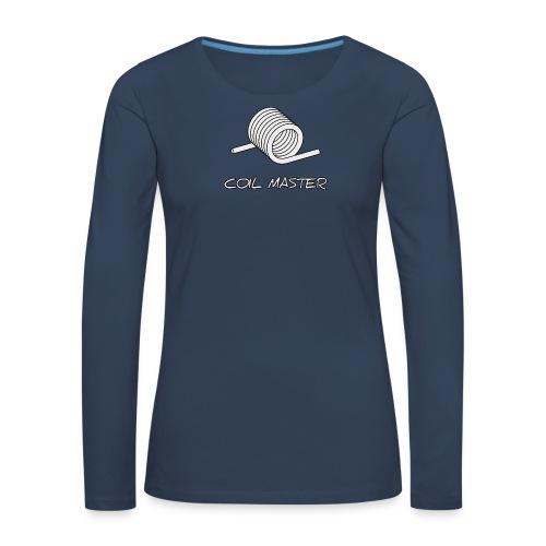 TShirt Coil 2 png - T-shirt manches longues Premium Femme