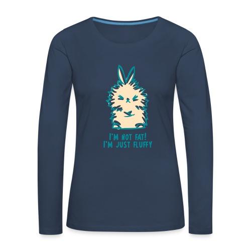 fluffy-bunny - T-shirt manches longues Premium Femme