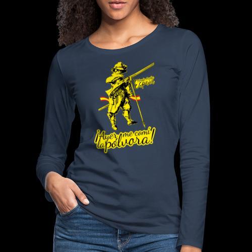 Santa Madre España - Women's Premium Longsleeve Shirt