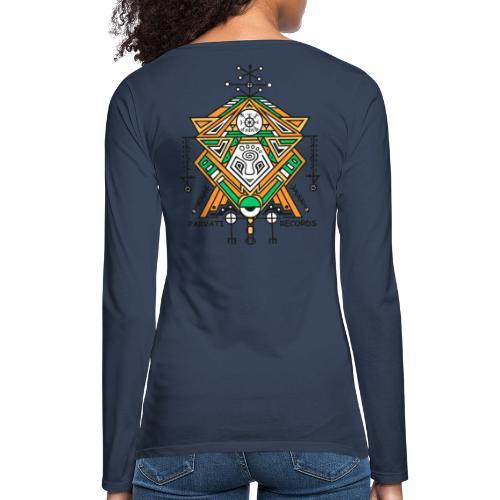Parvati Records Vegvísir - Women's Premium Longsleeve Shirt