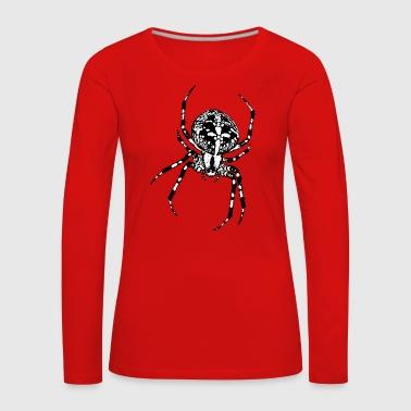 Kreuzspinne - Frauen Premium Langarmshirt
