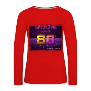 Official product of the 80's clothing - Women's Premium Longsleeve Shirt