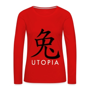 Utopia - Mr. Rabbit - Camiseta de manga larga premium mujer