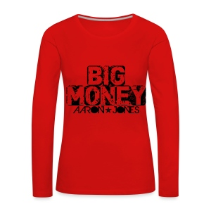 Big Money aaron jones - Maglietta Premium a manica lunga da donna