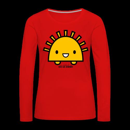 SUNNY - Naisten premium pitkähihainen t-paita