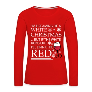 White Christmas - Women's Premium Longsleeve Shirt