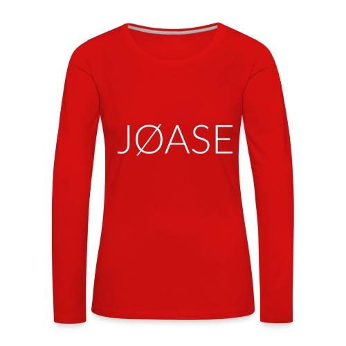 Joase - Women's Premium Longsleeve Shirt