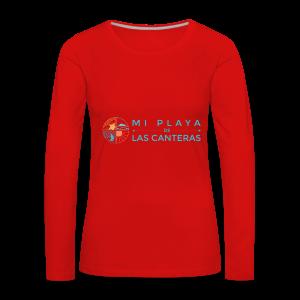 Mi playa de Las Canteras - Camiseta de manga larga premium mujer